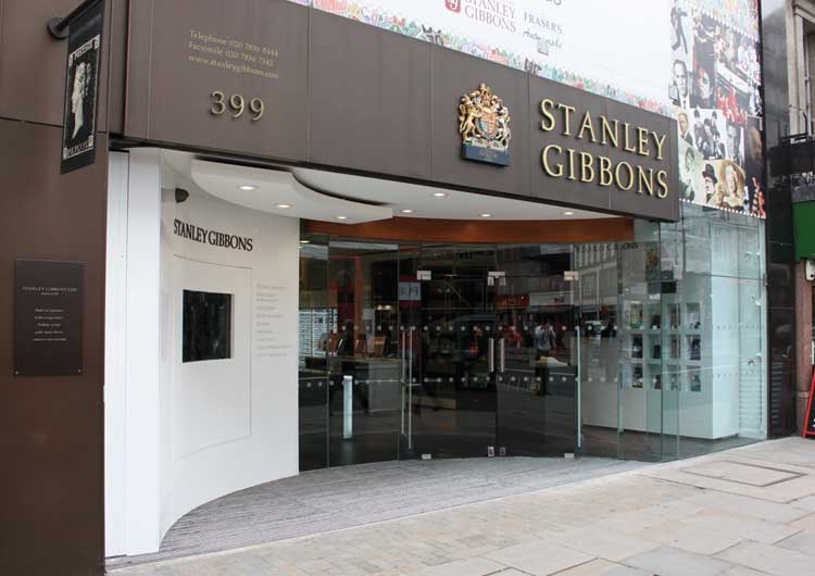 Leckenby Associates Stanley Gibbons